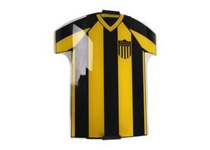 Aplique Pared Vidrio Camiseta Peñarol con cable y perilla